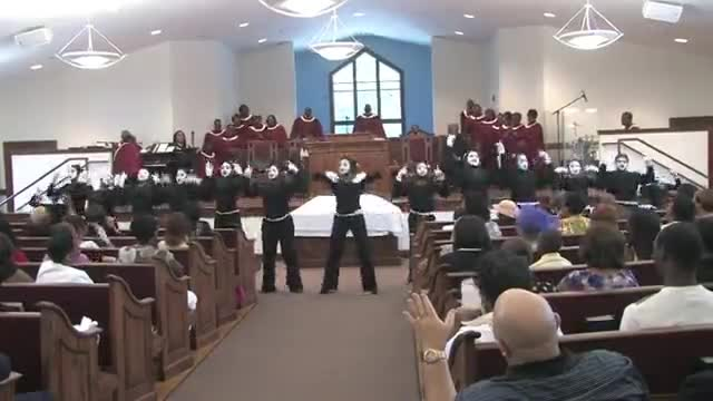 Set The Atmosphere - CGBC Silent Expressions Mime Ministry