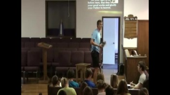 Matthew Chapter 5 Brandon Langley Youth Group August 31, 2011