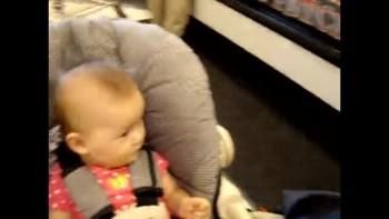 Baby Mayah Grocery Shopping