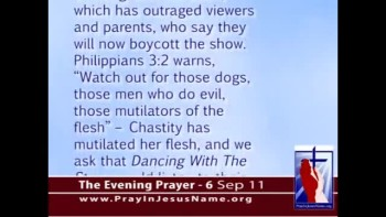 The Evening Prayer - 06 Sep 11 - ABC TV Promotes Transgender Sin