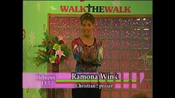 Walk the Walk with Ramona Wink-Pass the Test of Life! 9-13-2011