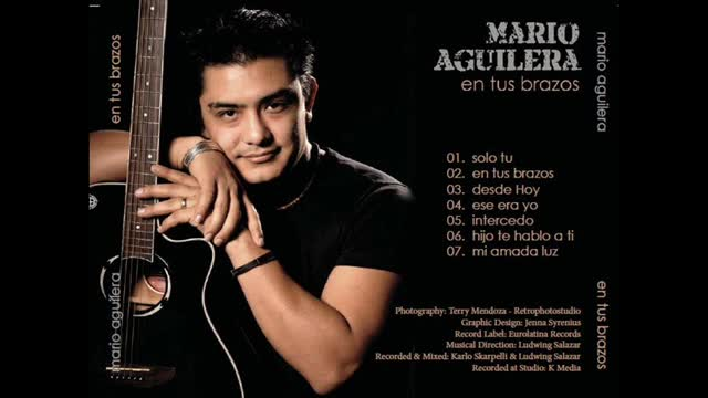 Mario Aguilera (Solo tu)