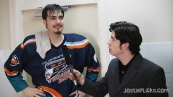 Jostie Flicks - Hockey Interview Parody