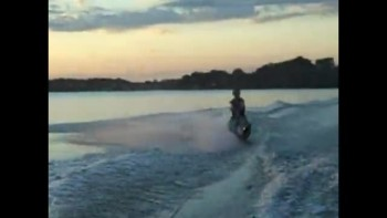 Dawson slalom water skiing. read description