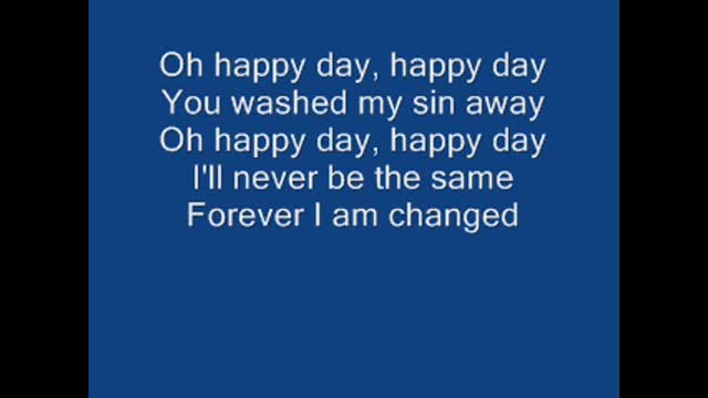 Happy Day - Tim Hughes