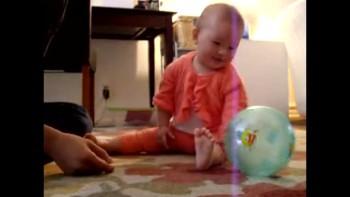 Mayah Baby Cutest Laugh at the Ball