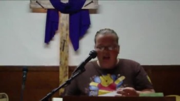 me singing at church