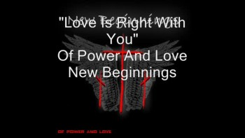 Love Is Right With You