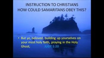 FOCUS 4: Samaritan Salvation