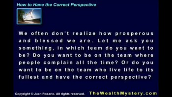 How to Have the Correct Perspective like Joel Osteen (Part 3)