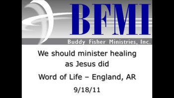 We should minister healing as Jesus did