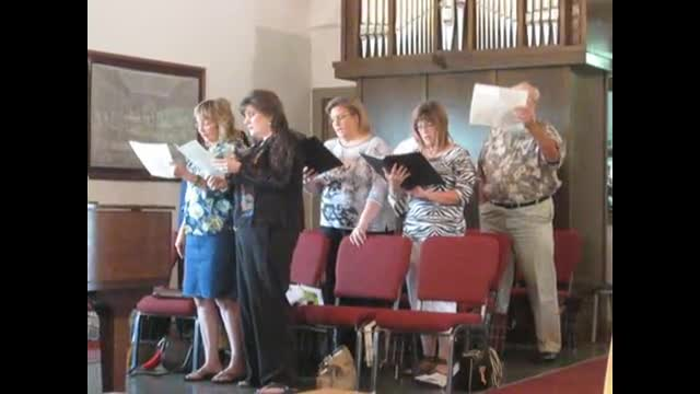 Adult Choir - Practice: Seek ye first the Kingdom of God