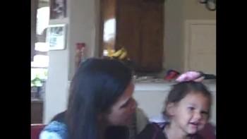 Lily singing Jesus Loves Me