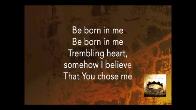 Francesca Battistelli - Be Born in Me (MARY) (Slideshow With Lyrics)