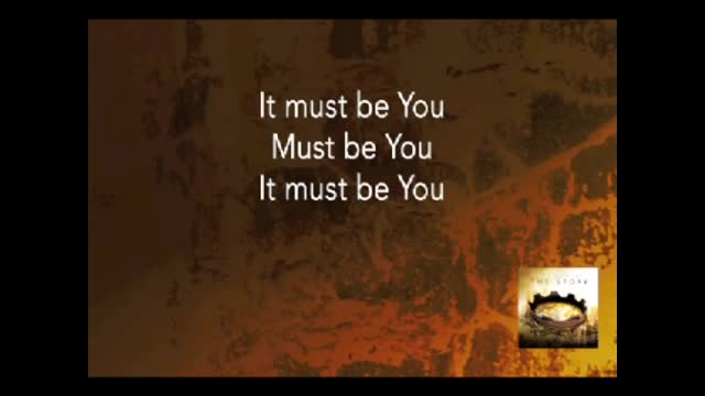 Bart Millard - It Must Be You (MOSES) (Slideshow With Lyrics)