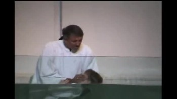Funny Kid Baptism