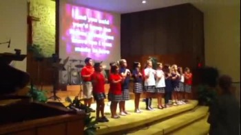 Chapel with 5th grade