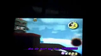 Super Mario Galaxy 2: Mounting the Whomp King