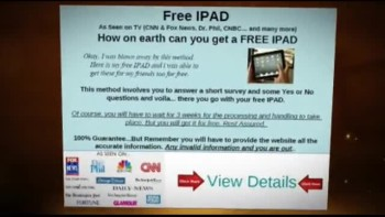 Free ipad - Get Yours Presently Costless Of Charge!