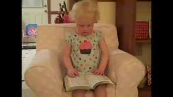 So Cute! Little Girl Recites Psalm 23