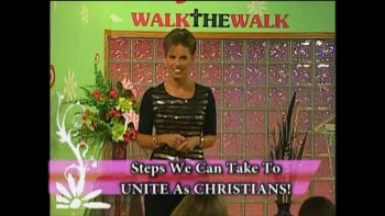 Walk the Walk with Ramona Wink-Christians Unite! -10-8-2011