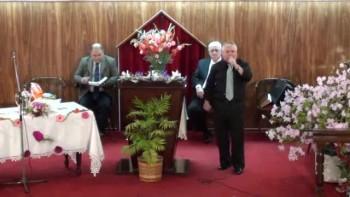 Solo escuchemos la voz del Señor. Evangelista Jorge Leone 02-10-2011