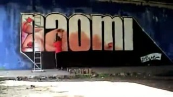 Graffiti Video Promo Project NAOMI in Amsterdam by RECAL