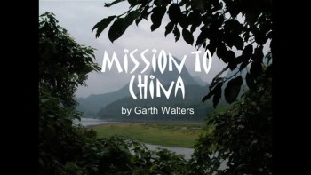 10-16-2011, Garth Walters, Missionary to China, 2 Kings 13:14-19