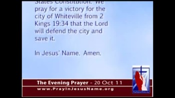 The Evening Prayer - 20 Oct 11 - Atheists Try to Remove Cross on Water Tower in Tennessee