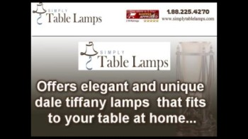 Unique Dale Tiffany Lamps