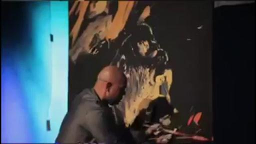 Travis Corey's Performance Painting