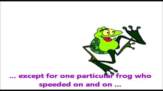 The Frog Race