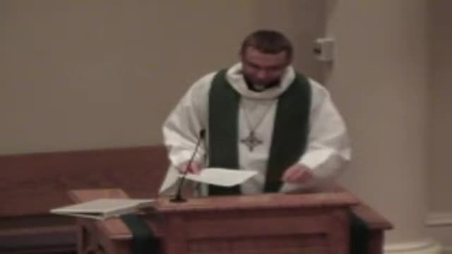Sermon 10/23/2011 Pastor Drahus