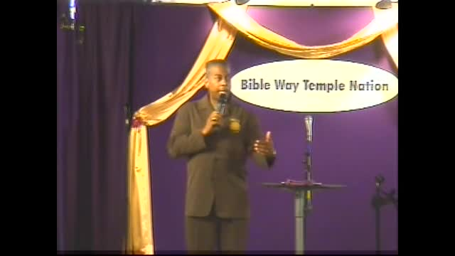 Clip 28 - Apostle T. Allen Stringer ''Why Not You?'' (Clip 1)