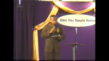 Clip 27 - Apostle T. Allen Stringer ''Why Not You?'' (Clip 2)