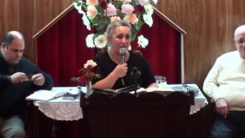 Nuestra esperanza en Jesus. Hna.Viviana Garcia. 18-10-2011