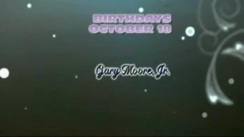 GUBC 2011 OCTOBER BIRTHDAYS