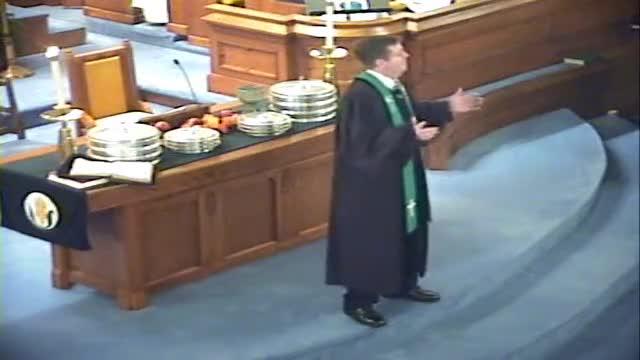 Sermon October 9th, 2011