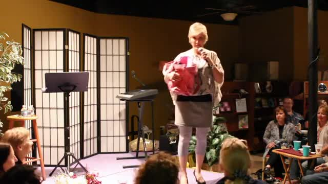 Comedian Sally Edwards - Married life changes you.