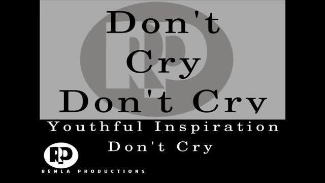 Reggae Gospel Yi - Don't Cry Lyric Video