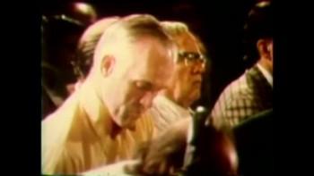 Francis Schaeffer at International Congress of World Evangelism, Lausanne, Switzerland, July 1974
