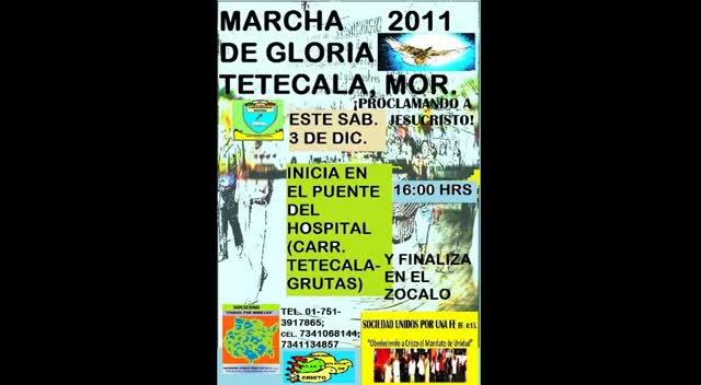 MARCHA DE GLORIA EN MEXICO