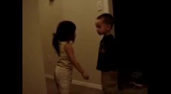 CuteToddler Fight