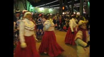 Christmas Parade Spanish Dancers