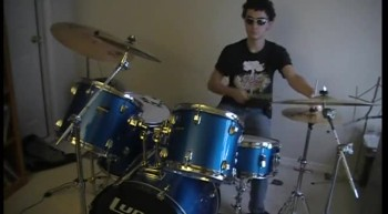 Sciccors by Emery drum cover