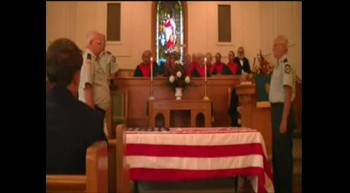 FALLEN HEROES: FOLDING THE VETERAN'S FLAG
