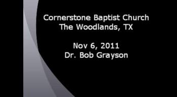 CBC 2011 Nov 06 Dr. Bob Grayson