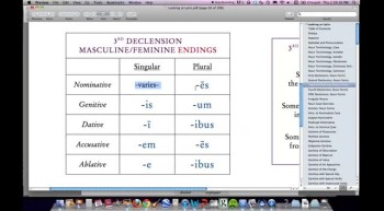 Latin I:  Fourth and Fifth Declension Fr. Henle, S.J.