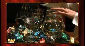 'The Glass Harp' ---------- Christmas Musical Glasses!