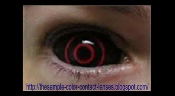sample color contact lenses